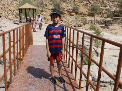 WADI BANI KHALID ONE DAY TRIP