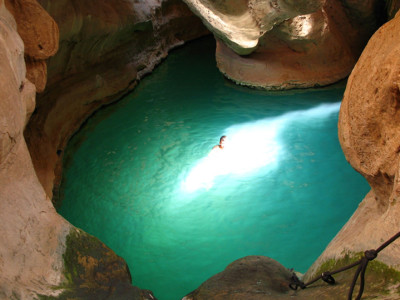 Ten Days Canyoning in Oman