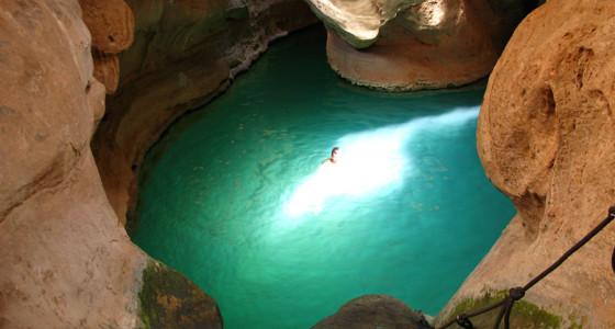 Ten Days Canyoning in Oman