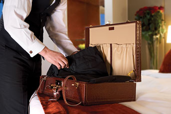 Butler Service at Hotels