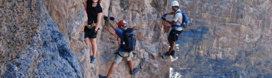 OMAN CANYONING ONE DAY TOUR