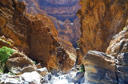 OMAN CANYONING ONE DAY TRIP