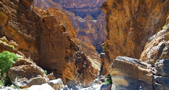 OMAN CANYONING ONE DAY ADVENTURE